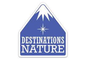 Logo réalisé pour le salon Destinations Nature