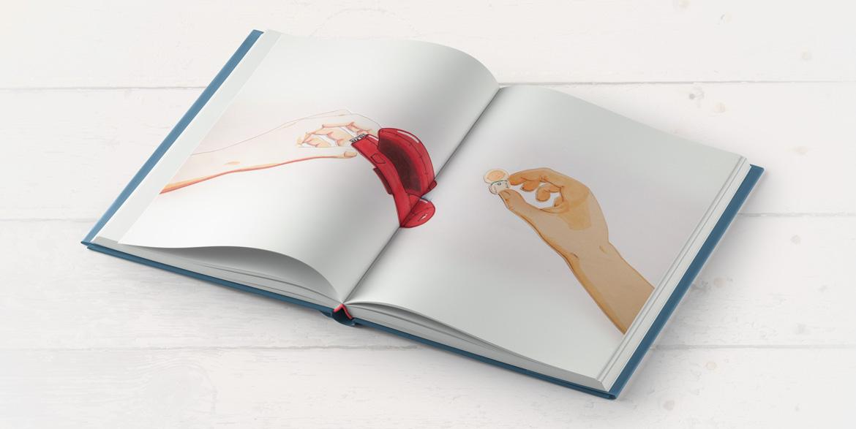 Histoire Illustrations Et Mise En Page D Un Livre Jeunesse