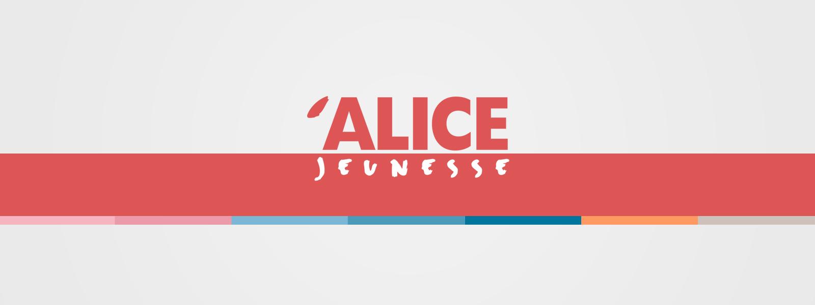Identité graphique des éditions Alice Jeunesse