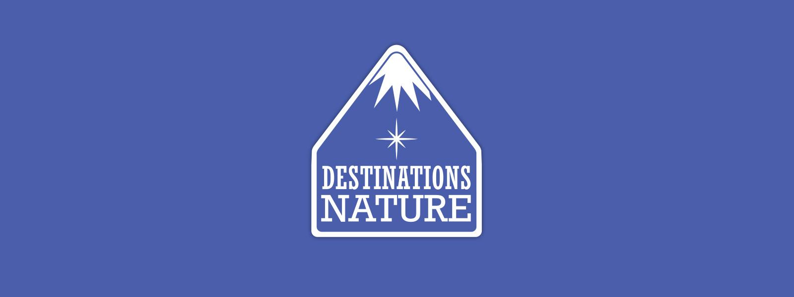 Identité graphique proposée pour le salon Destinations Nature