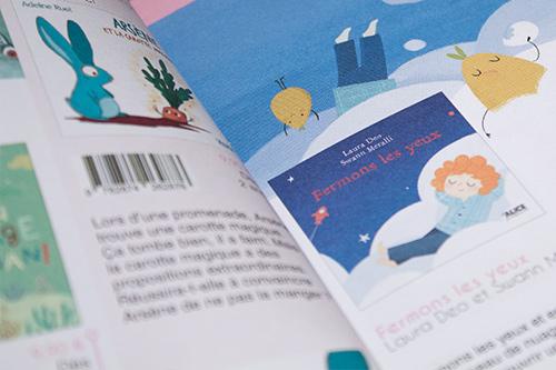 Mise en page Loupiot du catalogue 2018-2019 Alice Jeunesse